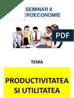 Productivitatea Si Utilitatea