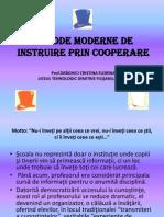 Metode Moderne de Instruire Prin Cooperare