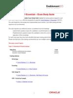 Oracle Essbase 11 Essentials – Exam Study Guide