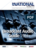 Broadcast Audio 2014