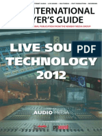 Livesound Tech 2012