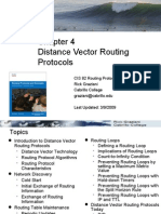 Chapter 4 Distance Vector Routing Protocols