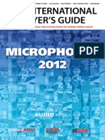Microphone Guide 2012