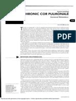 Weitzenblum - Chronic Cor Pulmonale