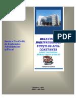 Decizii Relevante Contencios Trim. II-2014
