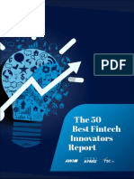 50 Best Fintech Innovators Report 2014