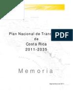 PNT de Costa Rica. Memoria