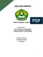 audit atas transaksi penerimaan dan pengeluaran kas