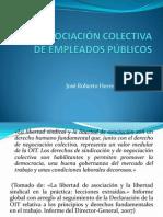 Negociacion Colectiva de Empleados Publicos