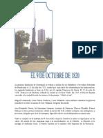 Día de La Independencia de Guayaquil y El 9 de Octubre de 1820