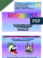 Clase Tema 3. Anticuerpos Septiembre 2013