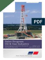 Sales Program Oil Gas Industry MTU Shop