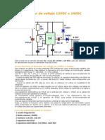 Elevador de Voltaje 12VDC a 24VDC