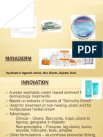 Mayaderm Sales Case