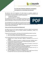 EDMUNDO - Ghid de Redactare Al Eseului Personal
