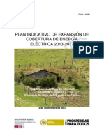 Plan Indicativo de Expansion de Cobertura 2013-2017