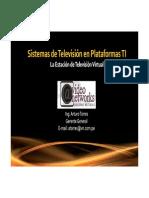Sistemas de TV en Plataformas