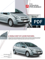 Citroen Xsara Picasso User Guide