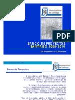 Capitulo IV Banco de Proyectos 2005-2010