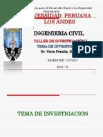 Tema de Investigacion upla