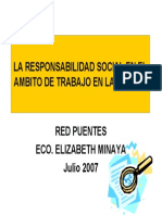 Responsabilidad Social en La Mypes