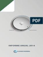 Informe Anual 2014 del Banco Mundial
