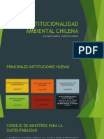 INSTITUCIONALIDAD AMBIENTAL CHILENA