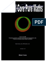 Pure Mathematics 1 Pdf