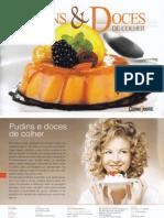 Pudins e Doces de Colher - Cozinha Saudável - Dez 2014