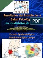 Expo Realidad Lampa Psi. Felipe Medina Qusipe