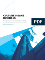 Culture Means Business Report