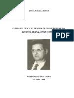 O Brasil de Caio Prado Jr. Nas Páginas Da Revista Brasiliense