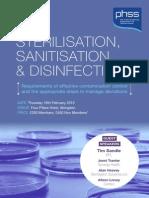 STERILISATION, SANITISATION & DISINFECTION
