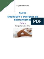 Curso Depilação e Designer de Sobrancelhas - Parte 1