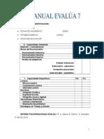 Manual Evalua 7