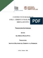 Construcción de Bases de Suelo - Cemento 1