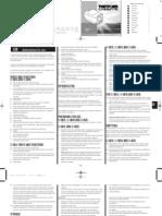 CAGADERO Owners Manual C400 1006