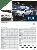 Catálogo Peugeot 208