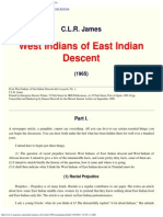 C.L.R. James_ West Indians of East Indian Descent (1965)