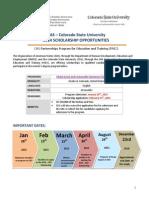 Announcement OAS Colorado 2015