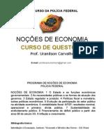 Economia Slide 01 Agente PF