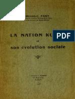 Mesud Fany Évolution de La Nation Kurde