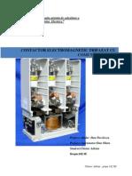 Contactor electromagnetic trifazat cu stingere in vid