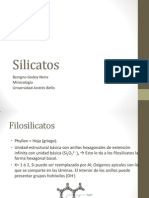 Silicatos - Filosilicatos