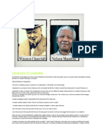 leadership project- mandela and winston churchill