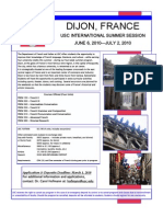 Dijon 2010 Flyer and Info