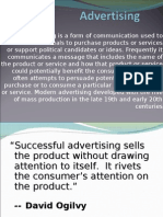 Ppt on Advertising by Amit