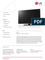 32LB520B Spec Sheet
