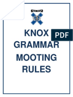 Mooting Rules