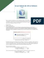 Cambiar Versión Por Defecto Del JDK en Netbeans 7